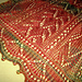 Poinsettia Scarf pattern