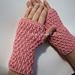 Daniela - Spiral Rib Crocheted Fingerless Mitts pattern