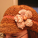 Twirl Girl Fibers Seed Stitch Cap pattern