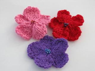 Ravelry: Knit Flower pattern by Sue W. Thompson