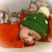 Christmas Tree Hat & Elfin Socks pattern