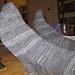 Two Toe-Up Socks on a Single Circular Needle pattern