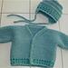 Garter Stitch Baby Cardigan pattern