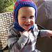 Toddler Knitted Helmet pattern