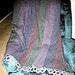 Tweed Stripes Afghan pattern