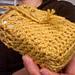Moss Stitch Soap Saver pattern
