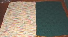 basketweave towels