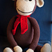 Big Crocheted Monkey pattern