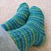 Oak Ribbed Sock pattern