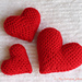 Corazoncitos Hearts pattern