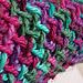 Dionysus Merino Wool Scarf pattern
