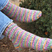 Basic Toe Up Socks pattern