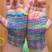 Simple Wrist Warmers (Toddler/Preschooler Size) pattern