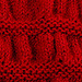 Ruched Cowl pattern