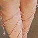 swan lake stockings pattern