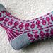 Swedish Fish Socks pattern