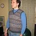 V-Neck Fair Isle Pullover Vest pattern