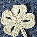 Simply Lucky Clover Bookmark pattern