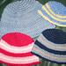 Child's Striped Cap (Basic Child's Version) pattern