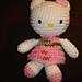 Sanrio Hello Kitty Keychain pattern
