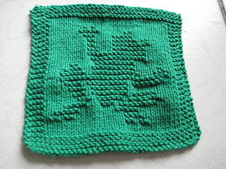 Ravelry: Waving Frog Knitted Dishcloth pattern by Melissa ...