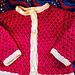 Berries & Cream Baby Sweater pattern