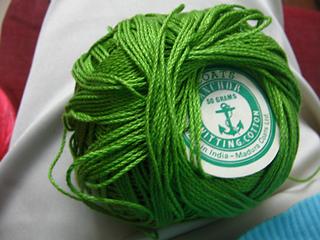 Knitting cotton