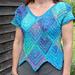 Diamond Patch Sweater pattern