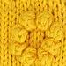 August's Summer Sunflowers Dishcloth pattern