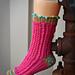 Cupcake Socks pattern