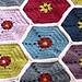 Honeycomb Afghan pattern