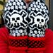 Skull Mittens Men's Size pattern