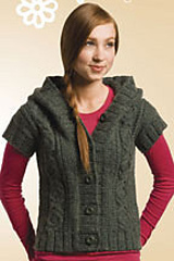 editor of Knitscene magazine Best of Knitscene a collection of simple stylish and spirited knits pattern book by Lisa Shroyer BK673