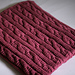 Cable Blanket pattern