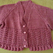 Design D - Lace Cardigans with Round or V Neck pattern