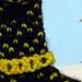 Itsy Bitsy Teenie Weenie Polka Dot Sockini pattern