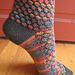Stained Glass Bubble Socks pattern