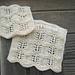 Foaming Waves Dishcloths pattern