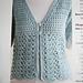 Mesh Trellis Cardigan pattern
