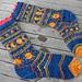 Sun & Moon Socks pattern