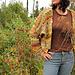 Autumn Grasses Caped Cardigan pattern