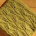 #35 Lace Leaf Scarf  pattern