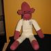 Star Wars Admiral Ackbar Sock Monkey pattern