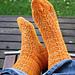 Fox Faces Socks pattern