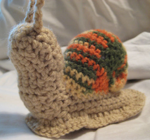 Free crochet snail pattern | Son's Popkes | 466x500