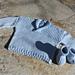 Ribby Wrap Sweater pattern