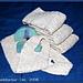 Flake Cotton Back Scrubber pattern