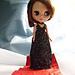 Halter-Neck Dress for Blythe Dolls pattern