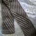 Tilting Rib Scarf  pattern
