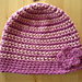 Moriarty: two colour crochet beanie pattern